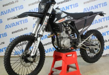 МОТОЦИКЛ AVANTIS ENDURO 300 CARB ARS (NC250/177MM, DESIGN KTM) С ПТС