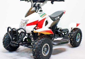 Детский квадроцикл GreenCamel Гоби K12 (24V 350W R4 Цепной привод)
